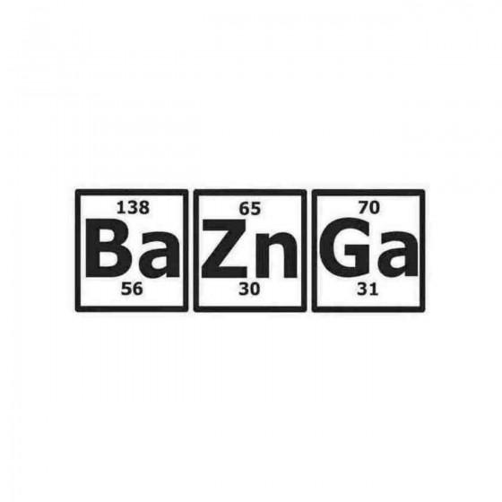 Bazinga Periodic Table Big...