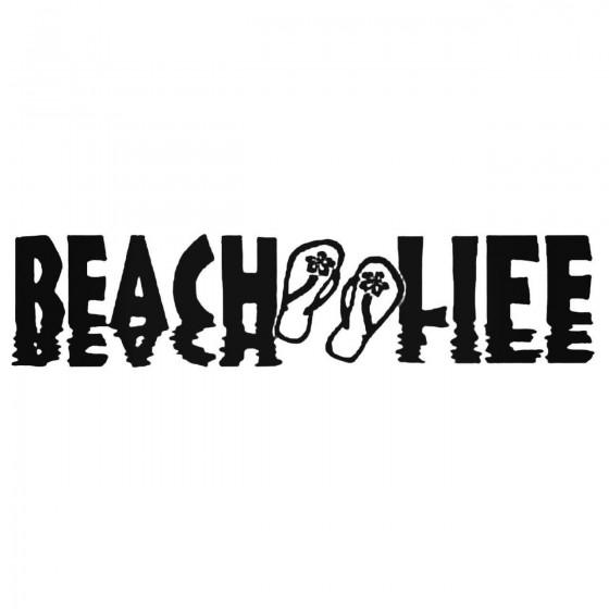 Beach Life With Flip Flops...