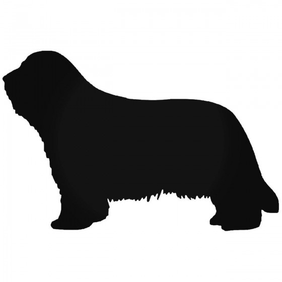 Bearded Collie Dog Sticker