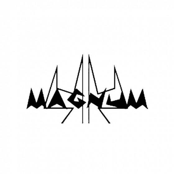 44 Magnum Band Logo Vinyl...