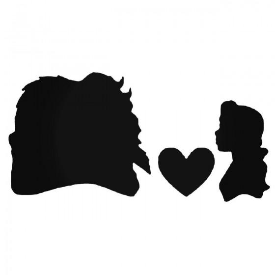 Belle Love Decal Sticker