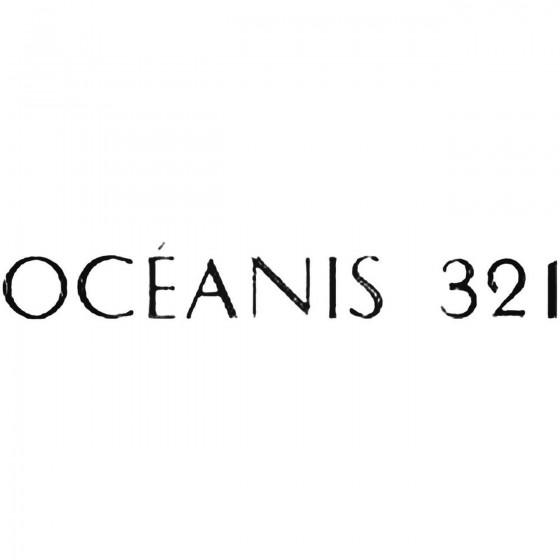Beneteau Oceanis 321 Decal...