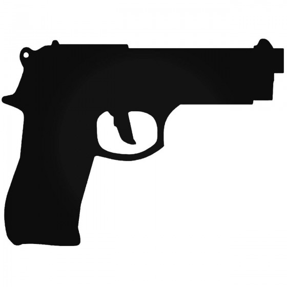 Beretta M9 Decal Sticker