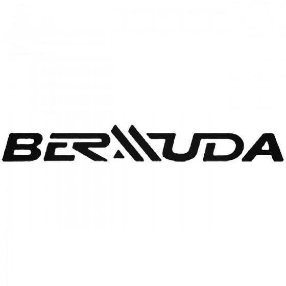 Bermuda Decal Sticker