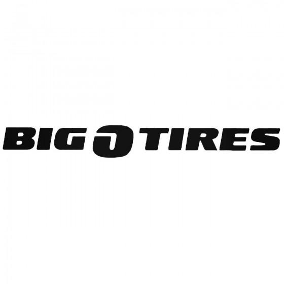 Big O Tires Spair Vinl Car...