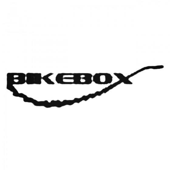 Bikebox S Decal Sticker