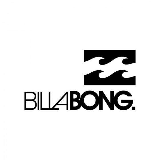 BILLABONG Vinyl Decal Sticker