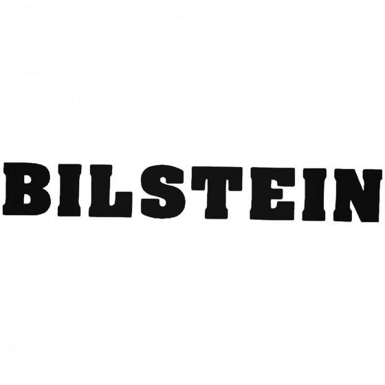 Bilstein 1 Sticker
