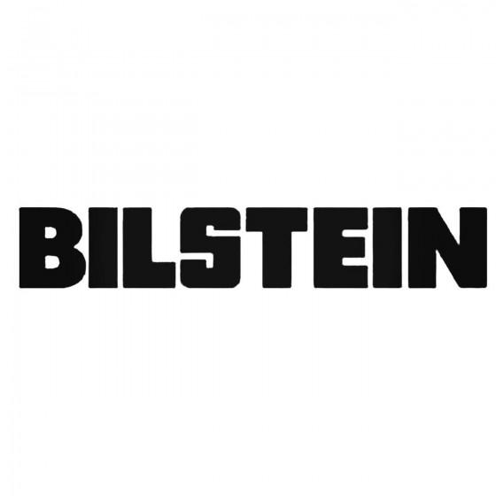 Bilstein Aftermarket Decal...