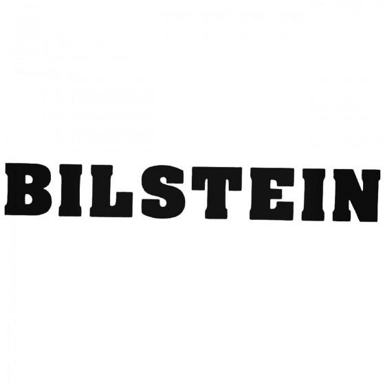 Bilstein Graphic Decal Sticker