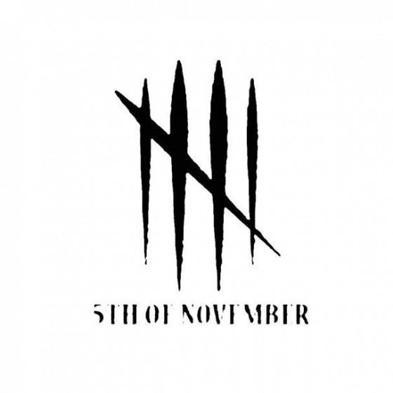 5th Of November Band Logo...
