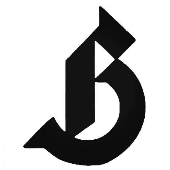 Birdhouse B Decal Sticker