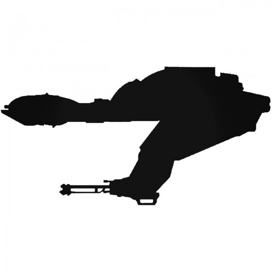 Bird Of Preysilhouette Sticker