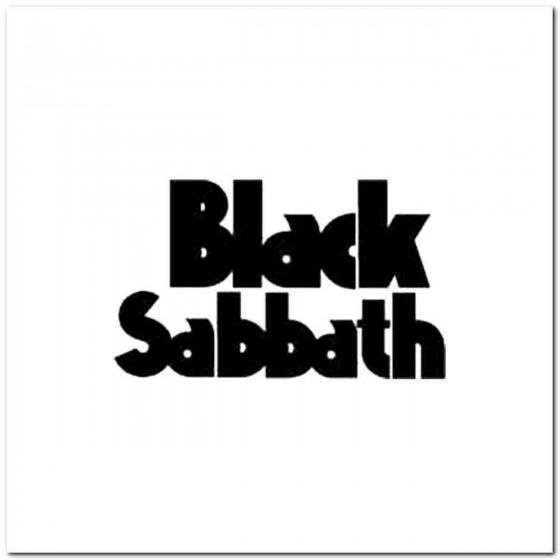 Black Sabbath C Decal Sticker