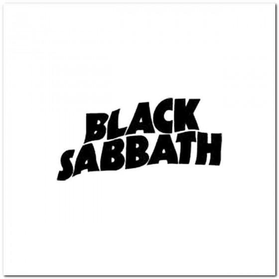 Black Sabbath D Decal Sticker