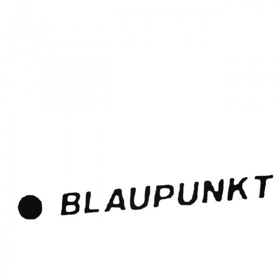 Blaupunkt Car Audio Die Cut...