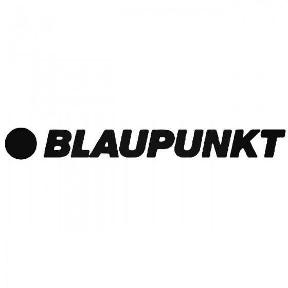 Blaupunkt Logo Sticker