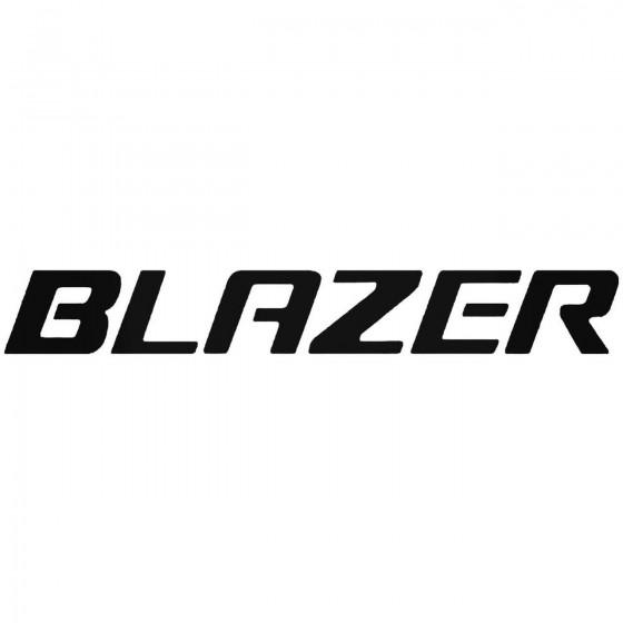 Blazer Graphic Decal Sticker