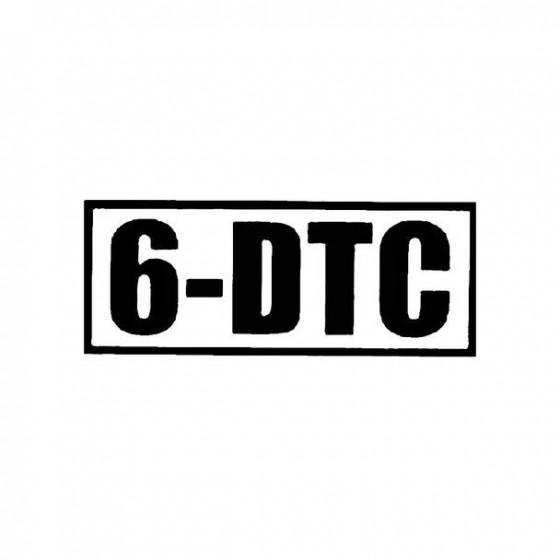 6 Dtc Band Logo Vinyl Decal