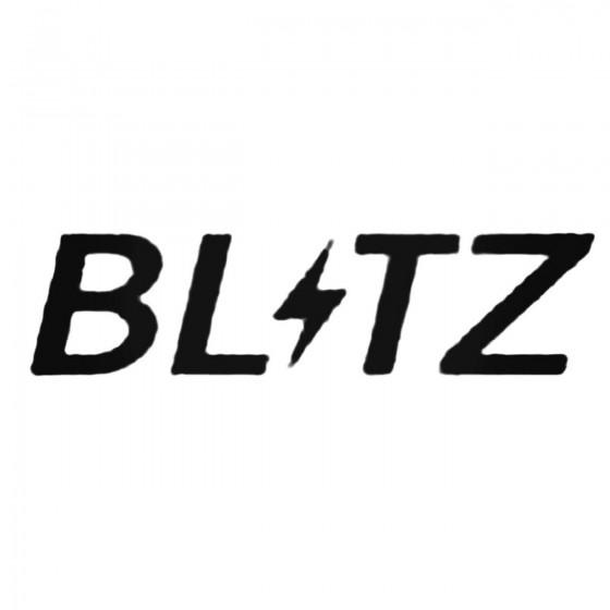 Blitz S Decal Sticker