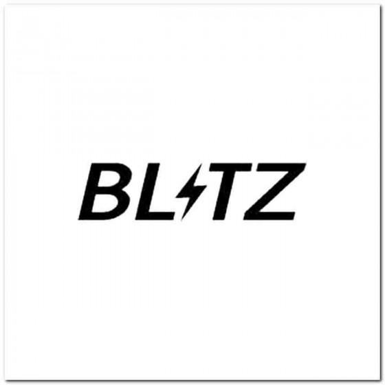Blitz Vinyl Decal
