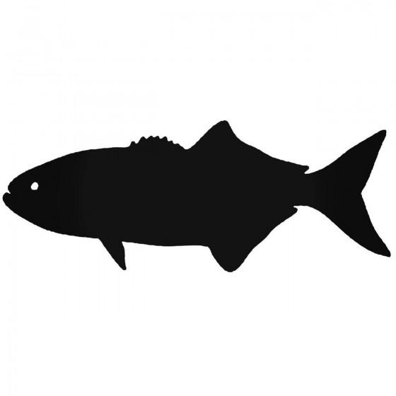 Bluefish Fish Sticker