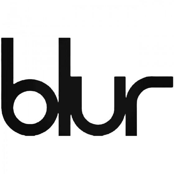Blur Decal Sticker