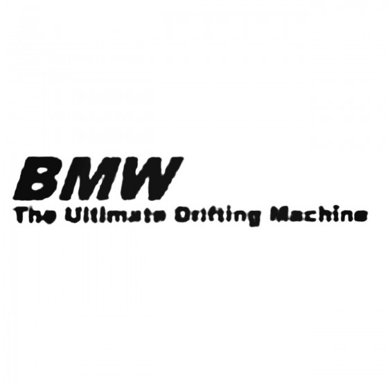 Bmw Drifting Decal Sticker