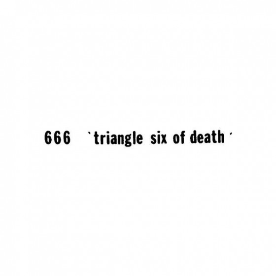 666 4 Band Logo Vinyl Decal