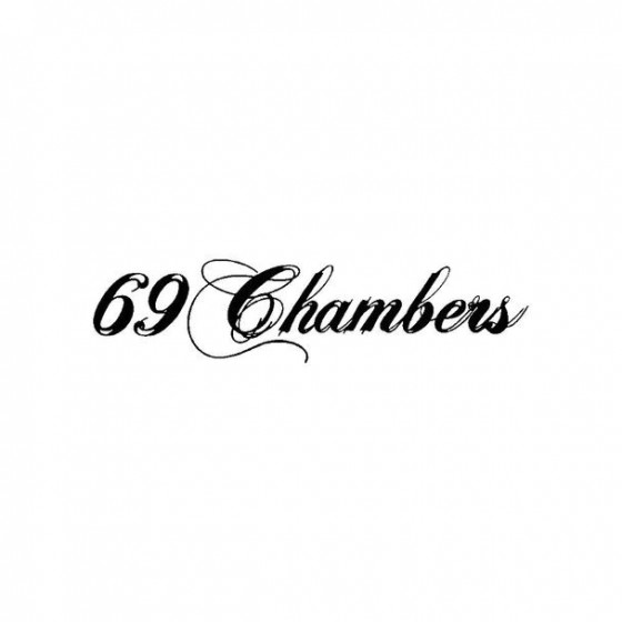69 Chambers Band Logo Vinyl...
