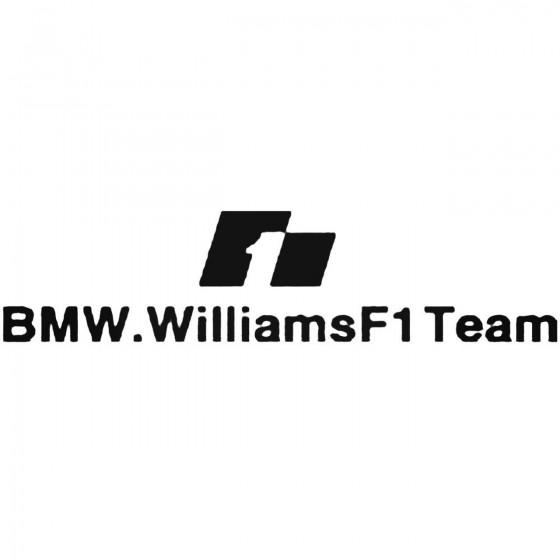 Bmw Williams F1 Team Decal...