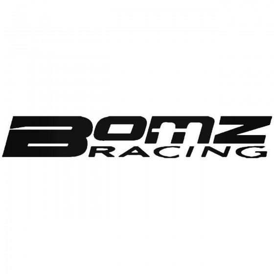 Bomz Racing Sticker