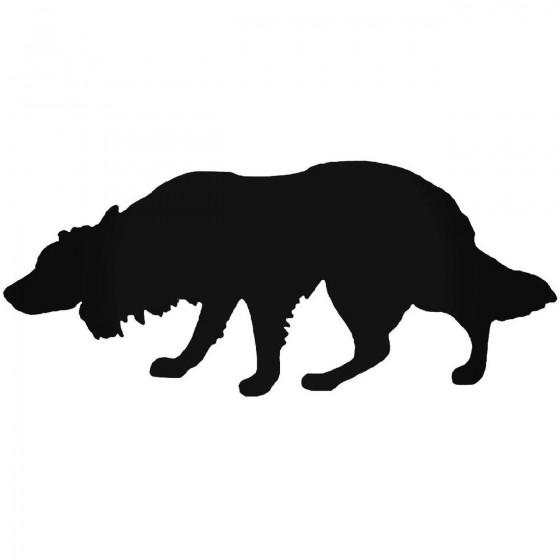 Border Collie Dog 2 Sticker