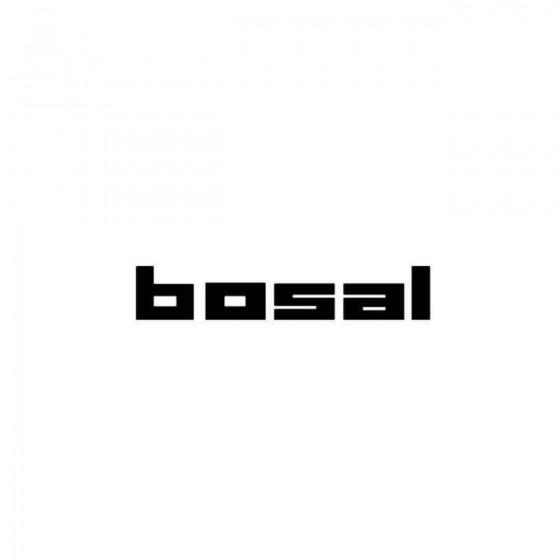 Bosal Vinyl Decal Sticker
