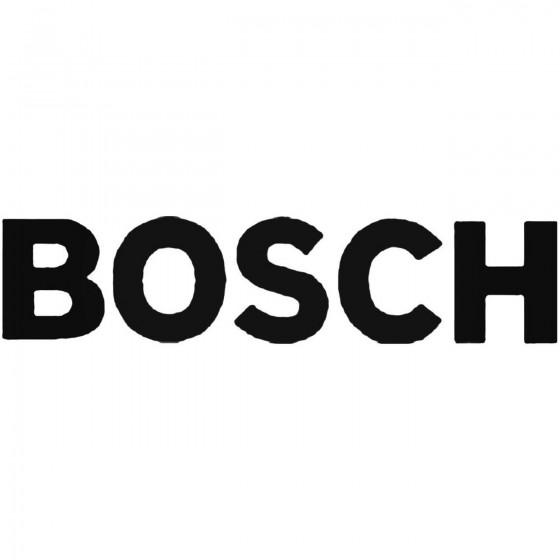 Bosch Decal Sticker