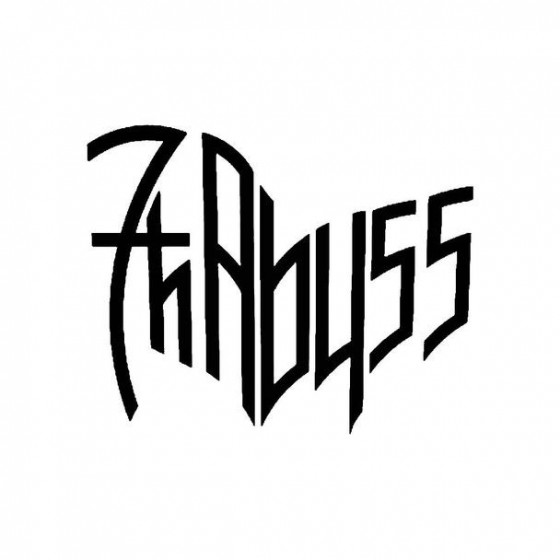 7th Abyss Band Logo Vinyl...