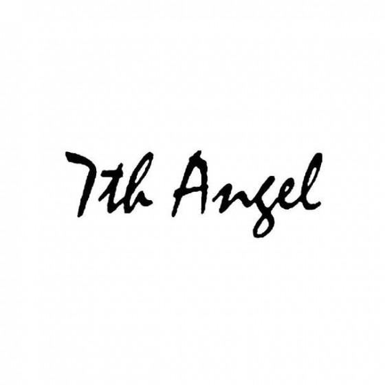 7th Angel Band Logo Vinyl...