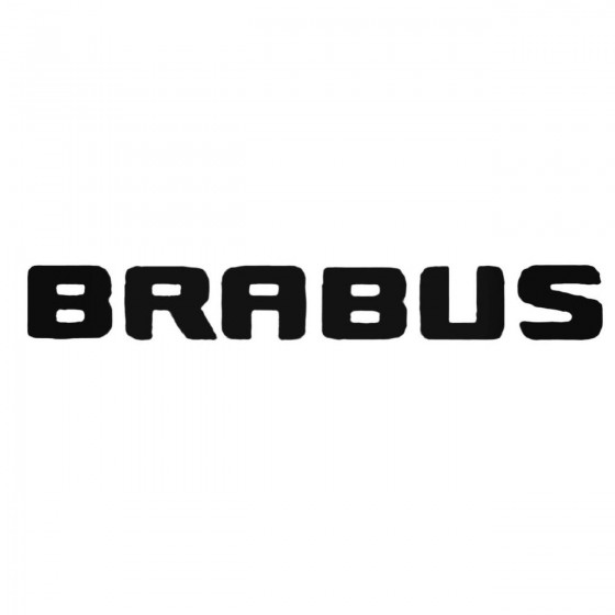 Brabus Aftermarket Decal...