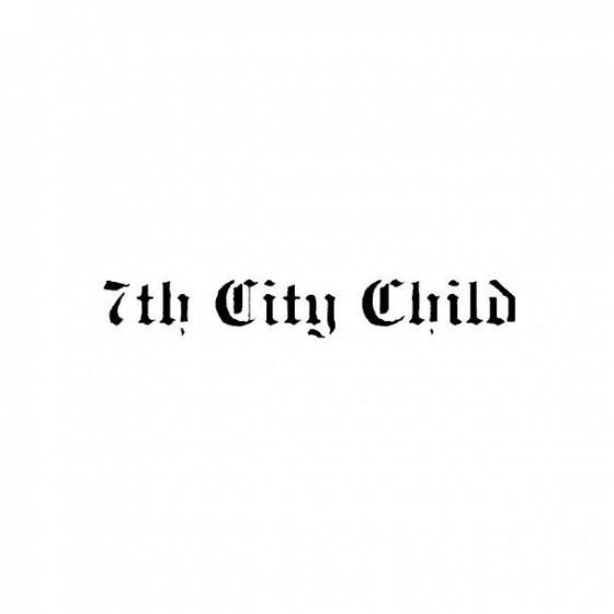 7th City Child Band Logo...
