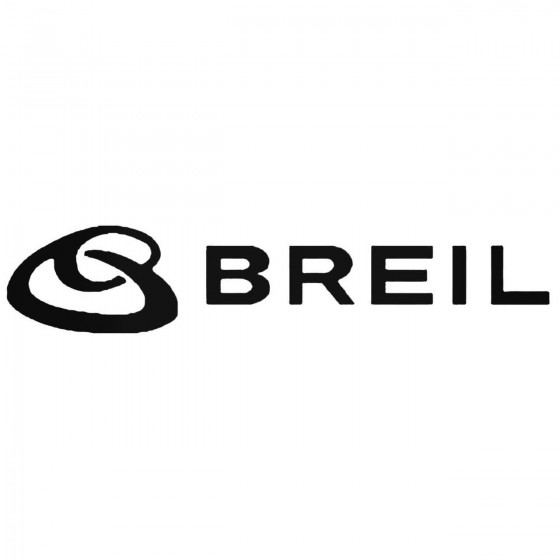 Breil Exhaust Decal Sticker