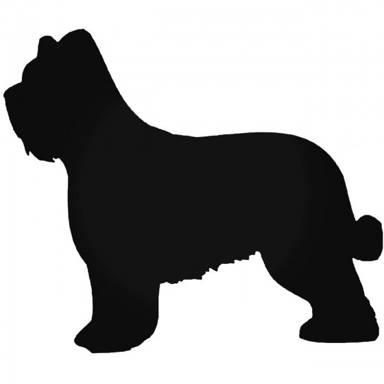 Briard Dog Sticker