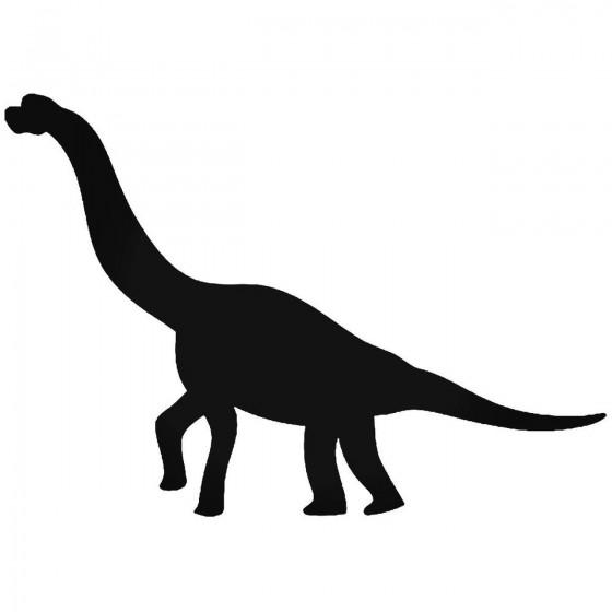 Brontosaurus Dinosaur Sticker