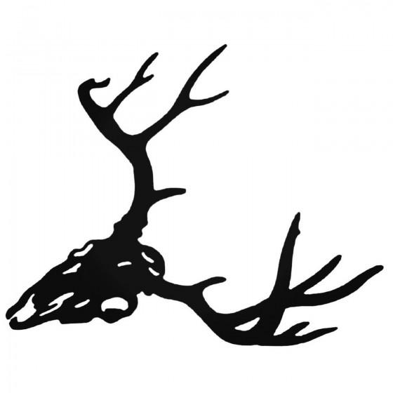 Buck Antlers Skull Style 3...