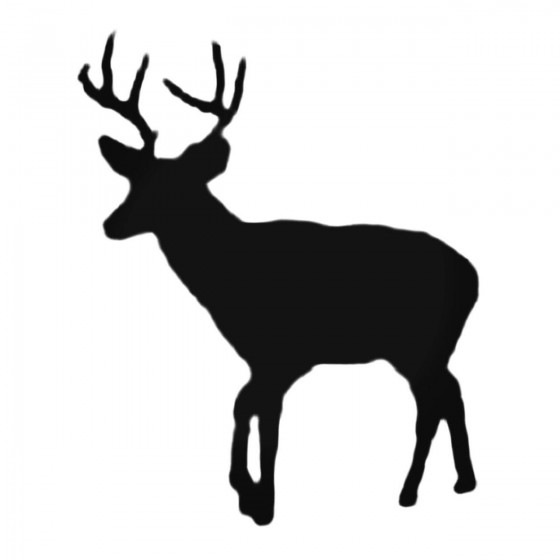 Buck Walking Decal Sticker