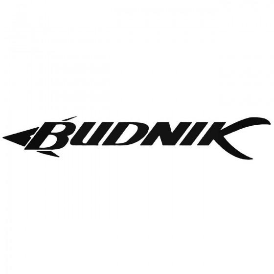 Budnik Wheels Graphic Decal...