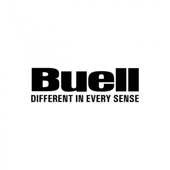 Buell Slogan Vinyl Decal...