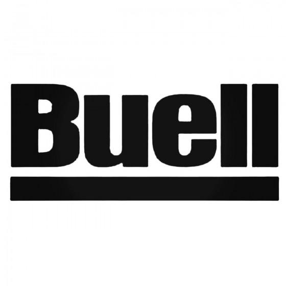 Buell Underline Decal Sticker