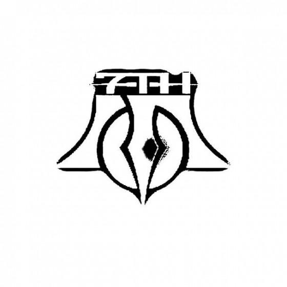 7th Son Band Logo Vinyl Decal