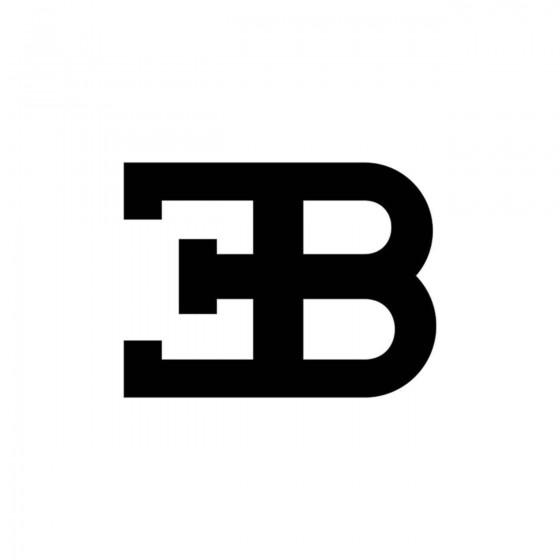 Bugatti Logo Vinyl Decal...