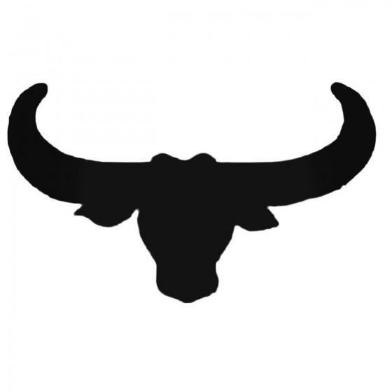 Bull039s Head Decal Sticker